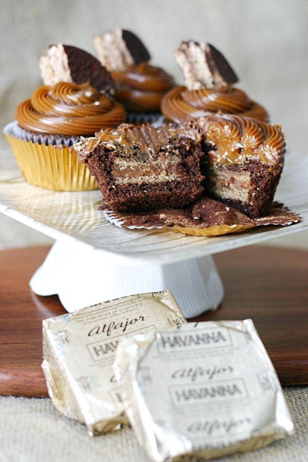Chocolate Alfajor Cupcake Recipe Delicious Cupcake Recipes