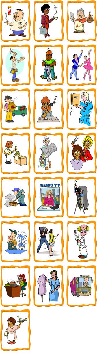 Jobs Flashcards Intermediate Level Flashcards Job Learning