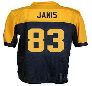 green bay packers 83 jeff janis navy blue with gold alternate elite jerseys