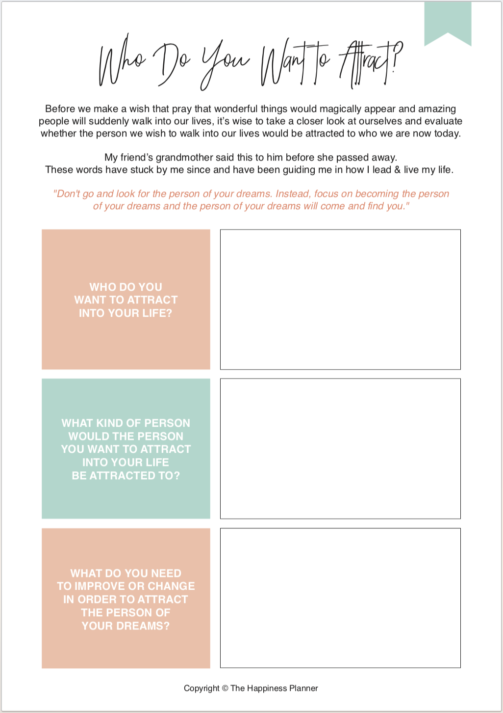 Printables Lawofattraction
