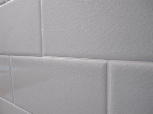 Hampton White -Adex- Crackle -3x6- Subway- Backsplash Tile $7.95 sq ft - Hampton White -Adex- Crackle -3x6- Subway- Backsplash Tile $7.95
