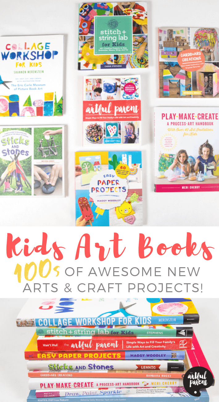 9 Awesome New Art Activity Books For Kids Art Books For Kids Art Activities For Kids Kids Activity Books