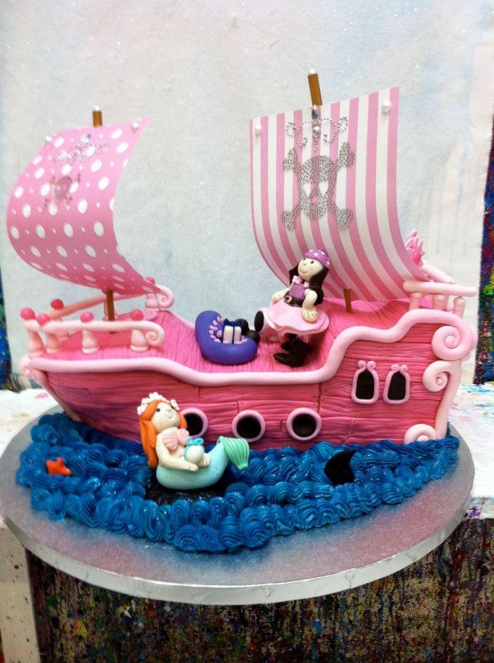 Cute Idea For A Little Girls Birthday Cake Little Girl Birthday