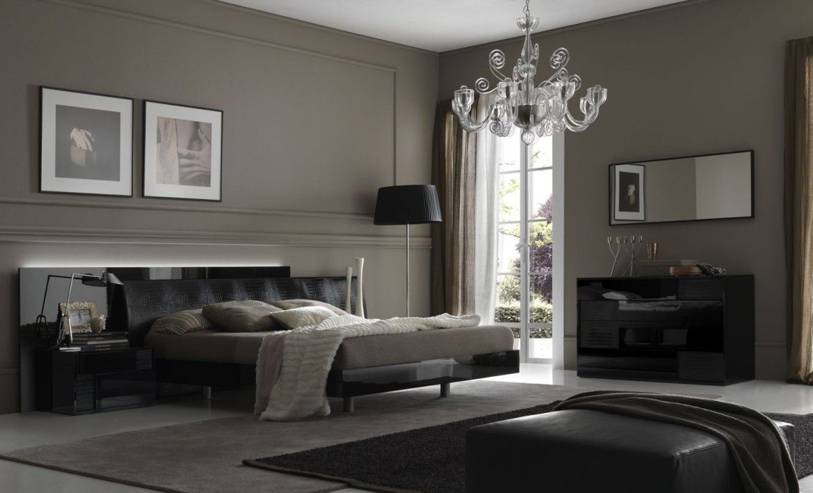 bedroom modern style bedroom design with black and dark brown color schemes  interior design ideas beautiful. bedroom modern style bedroom design with black and dark brown
