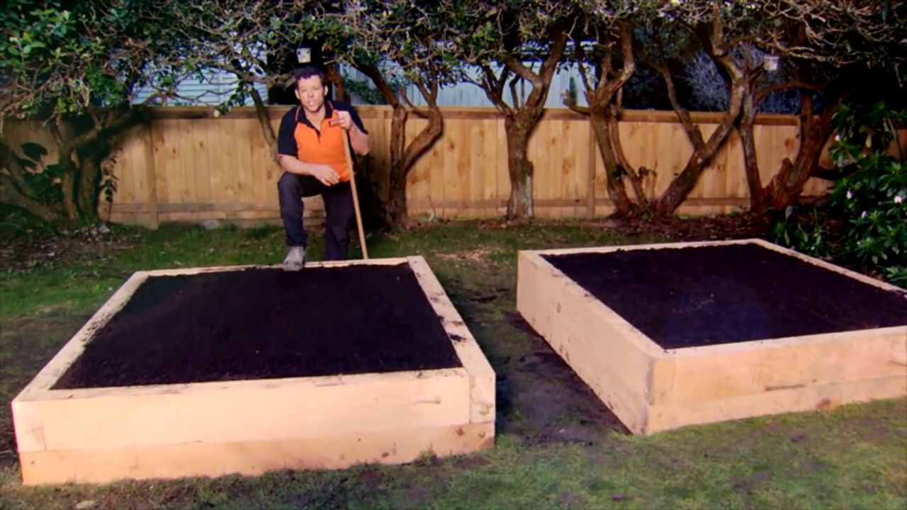 How to Build a Raised Vege Garden Mitre 10 Easy As