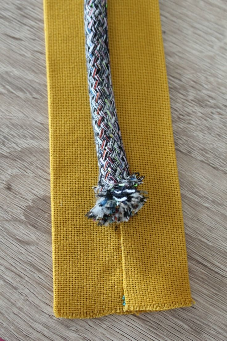 How To Make Purse Handles With Cording