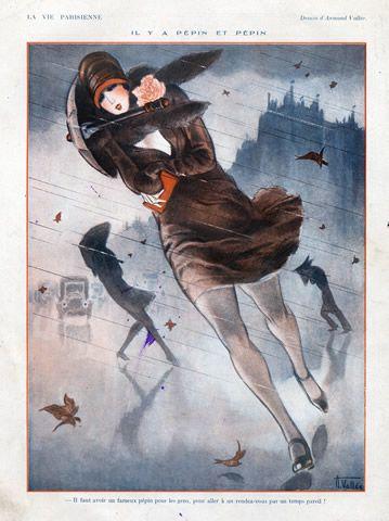 Armand Vallée : Illustration for La Vie Parisienne,1926