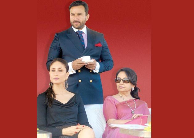 October It Is Says Sharmila Tagore Saifs Mom Confirms His Wedding Date Hasn
