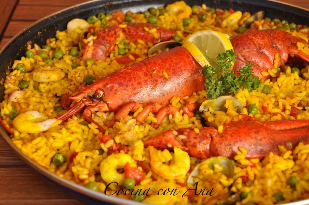 Genial como cocinar arroz con bogavante fotos arroz con for Como cocinar un bogavante