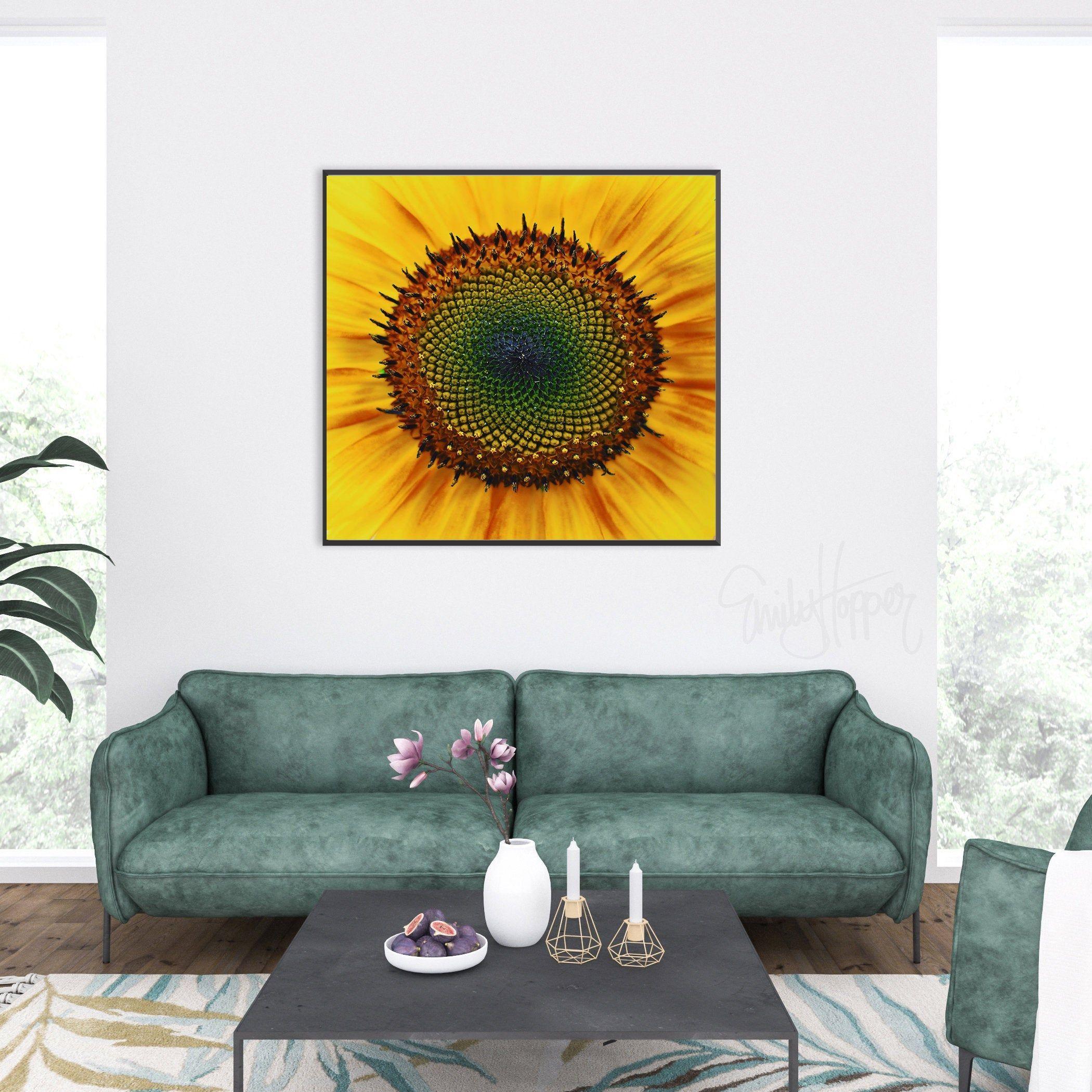 Sunflower Decor Fine Art Photography Print Yellow Sunflower Wall Art Living Room Bedroom K In 2020 Living Room Art Wall Art Living Room Photography Prints Art #sunflower #themed #living #room