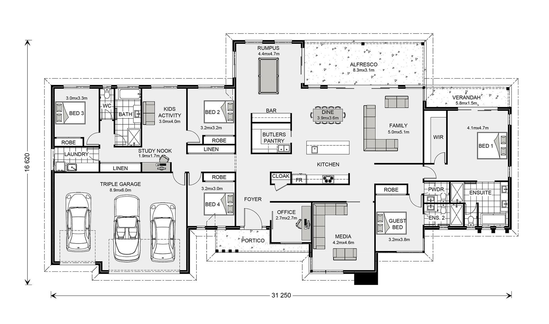 Somerset 513 Home Designs In G J Gardner Homes House Plans House Design House Plans With Pictures