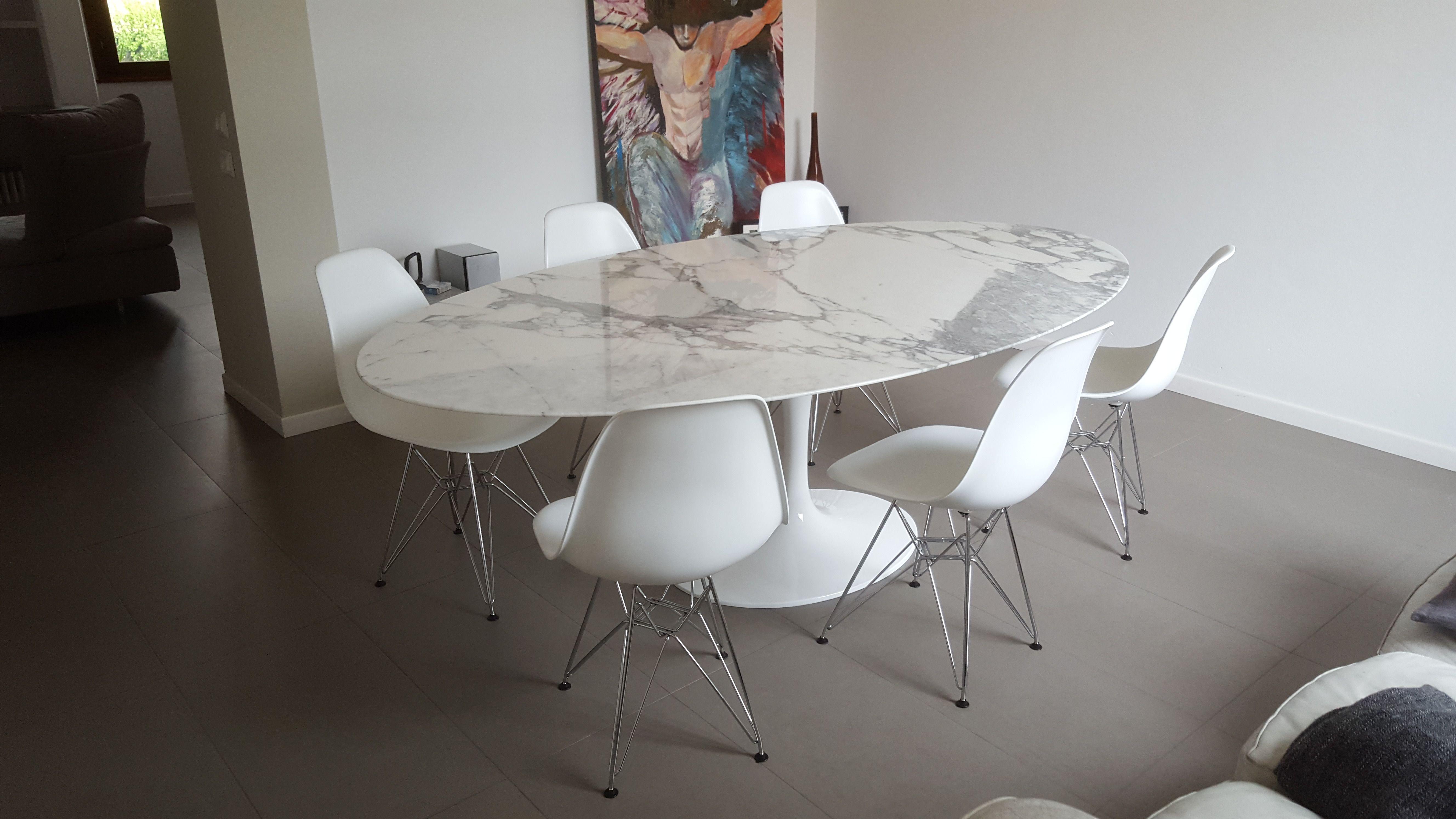 Tavolo Saarinen Marmo : Tulip table saarinen tavolo design marmo made in italy