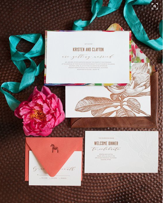 Teal, Bright Pink, and Brown inspiration