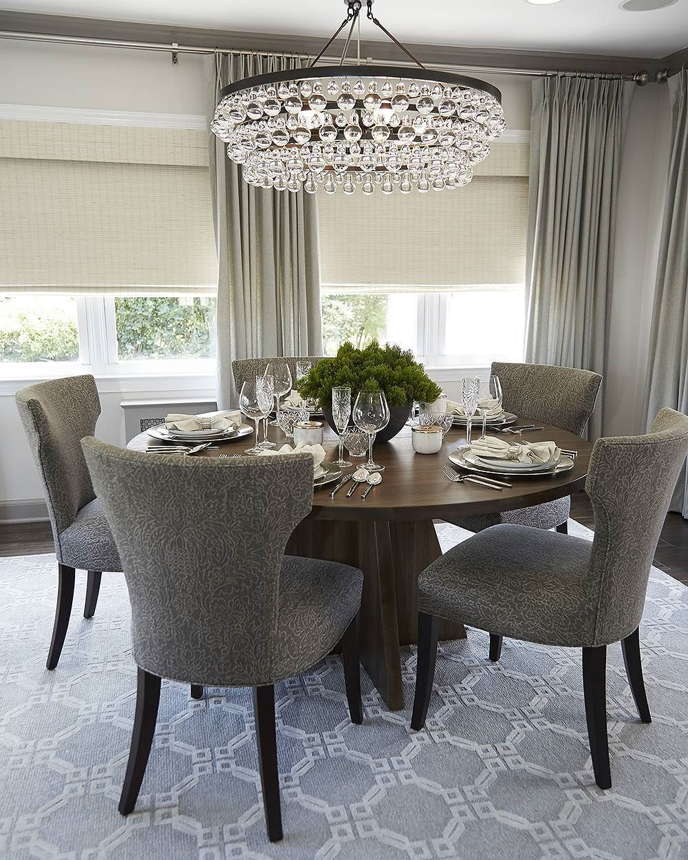 32 Stylish Dining Room Ideas To Impress Your Dinner Guests: Unique Dining Room, Luxury Dining