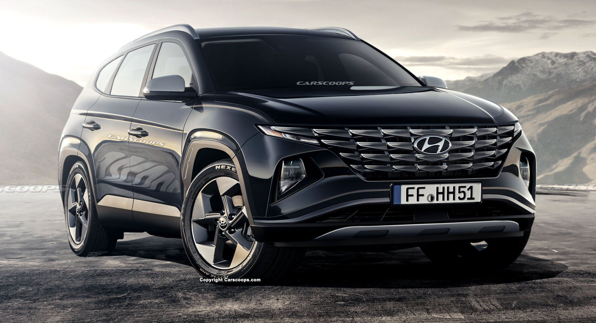 2021 Hyundai Tucson Will Bring Dramatic New Looks And More Curb