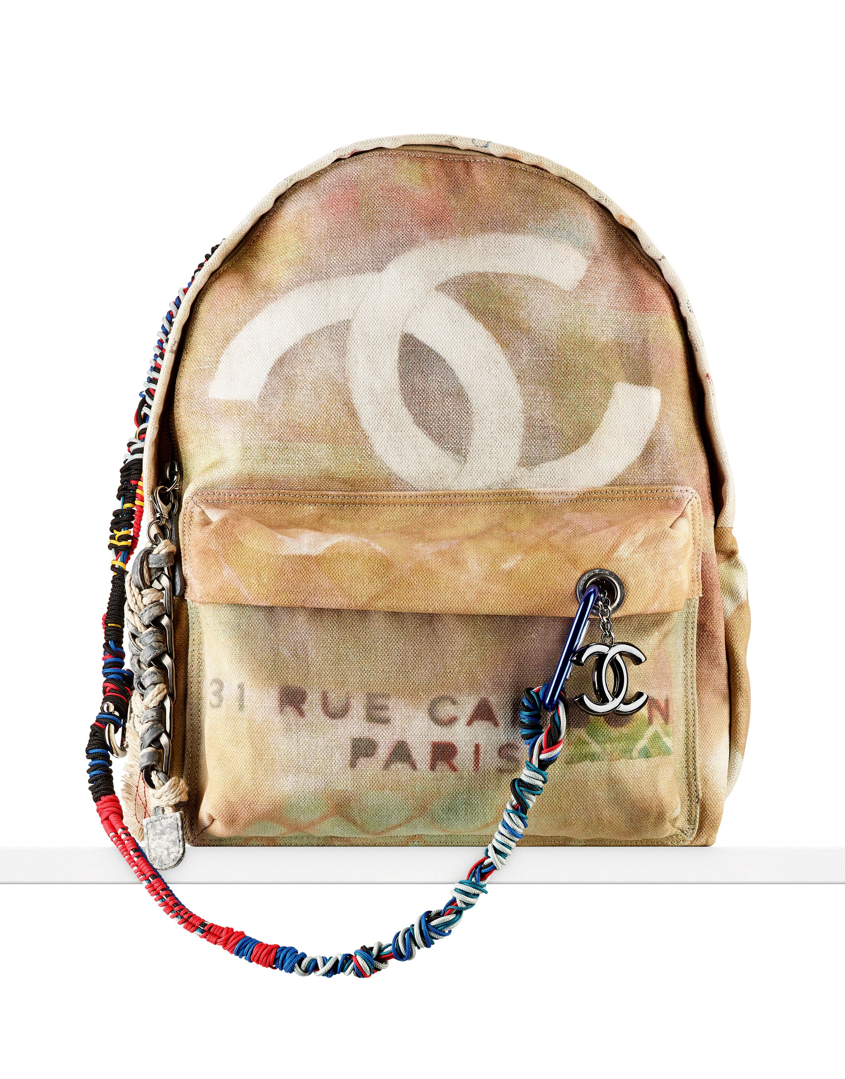e45853c910 Replica Chanel Graffiti Printed Canvas Backpack- Fenix Toulouse Handball