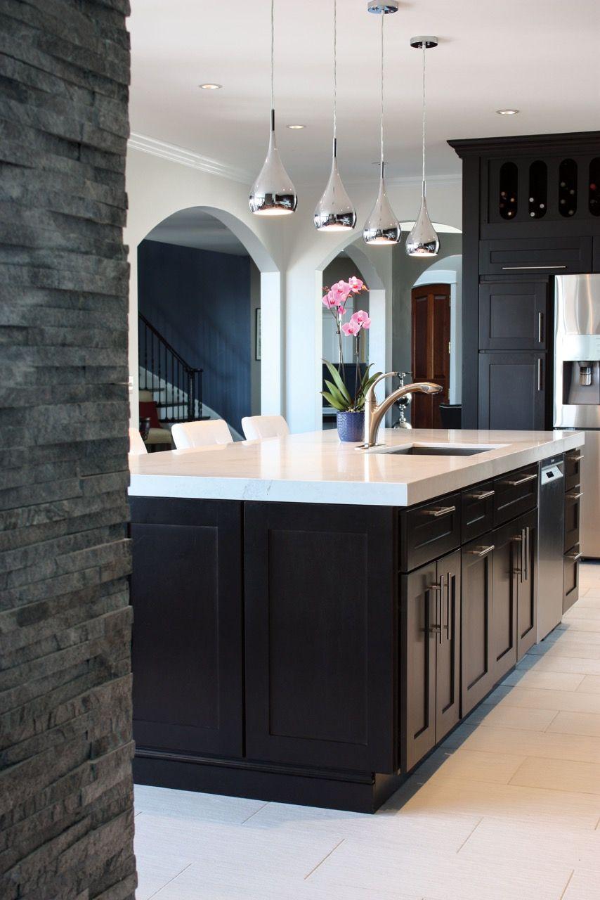 Eastman St. Woodworks Kitchen - Door Style is Fairfield. Color is ...