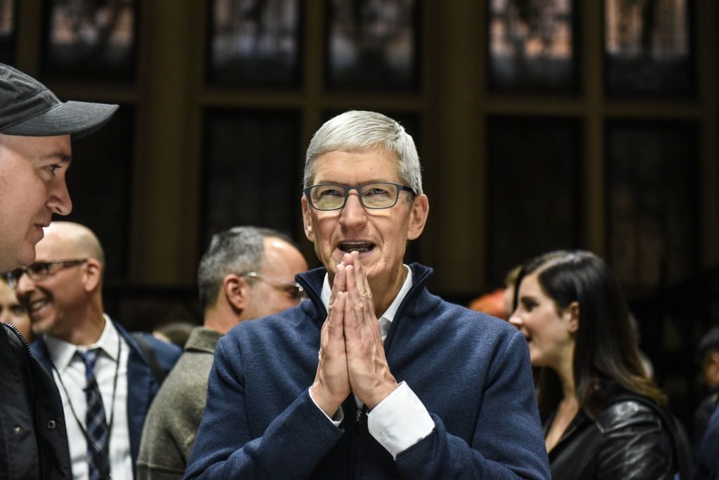Apple shares rise after company reports betterthan