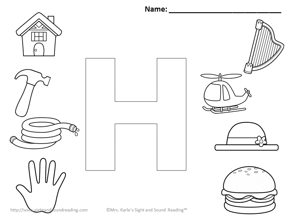 Letter H Coloring Pages Coloring Pages Free Coloring Pages Free Printable Coloring