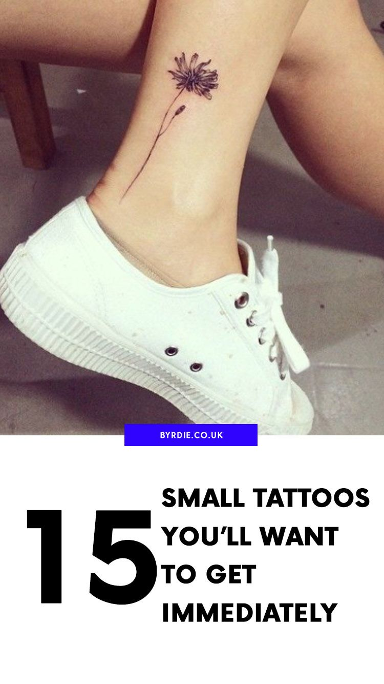15 Tiny Tattoos Youll Want to Get Immediately