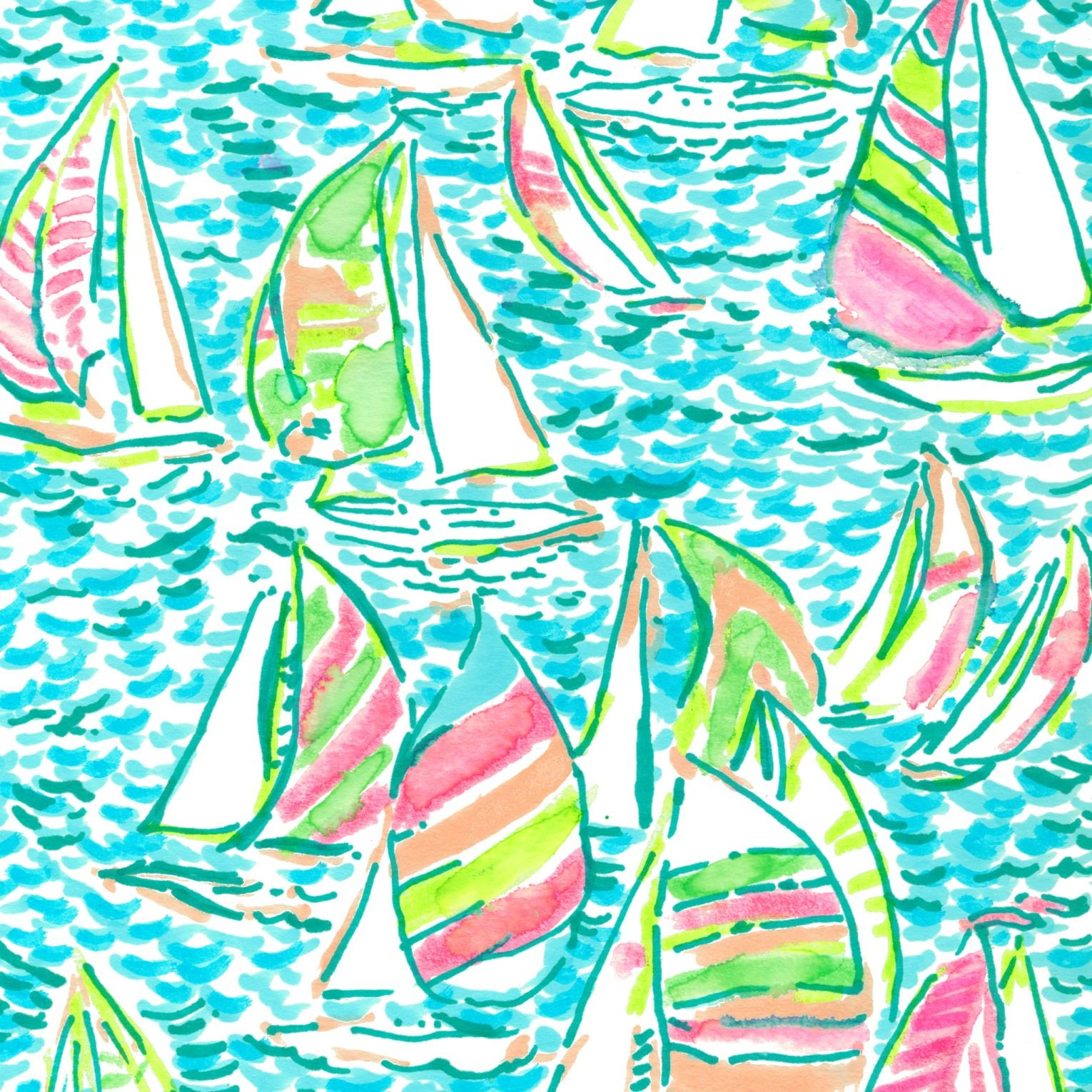 Lilly Pulitzer Wallpaper Fall 3 Words You Gotta Regatta Click The Throuhg To Shop Now