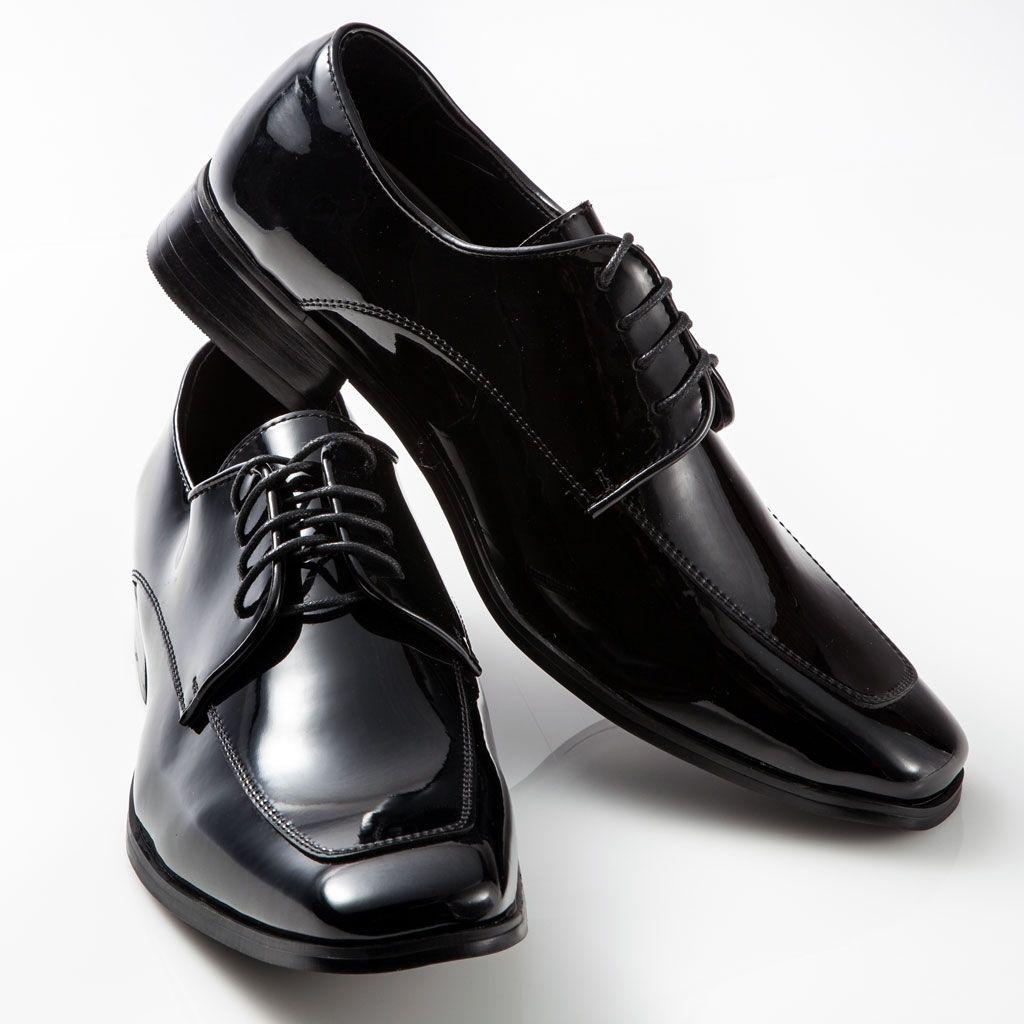 Men's Tuxedo Shoes | Square toe dress