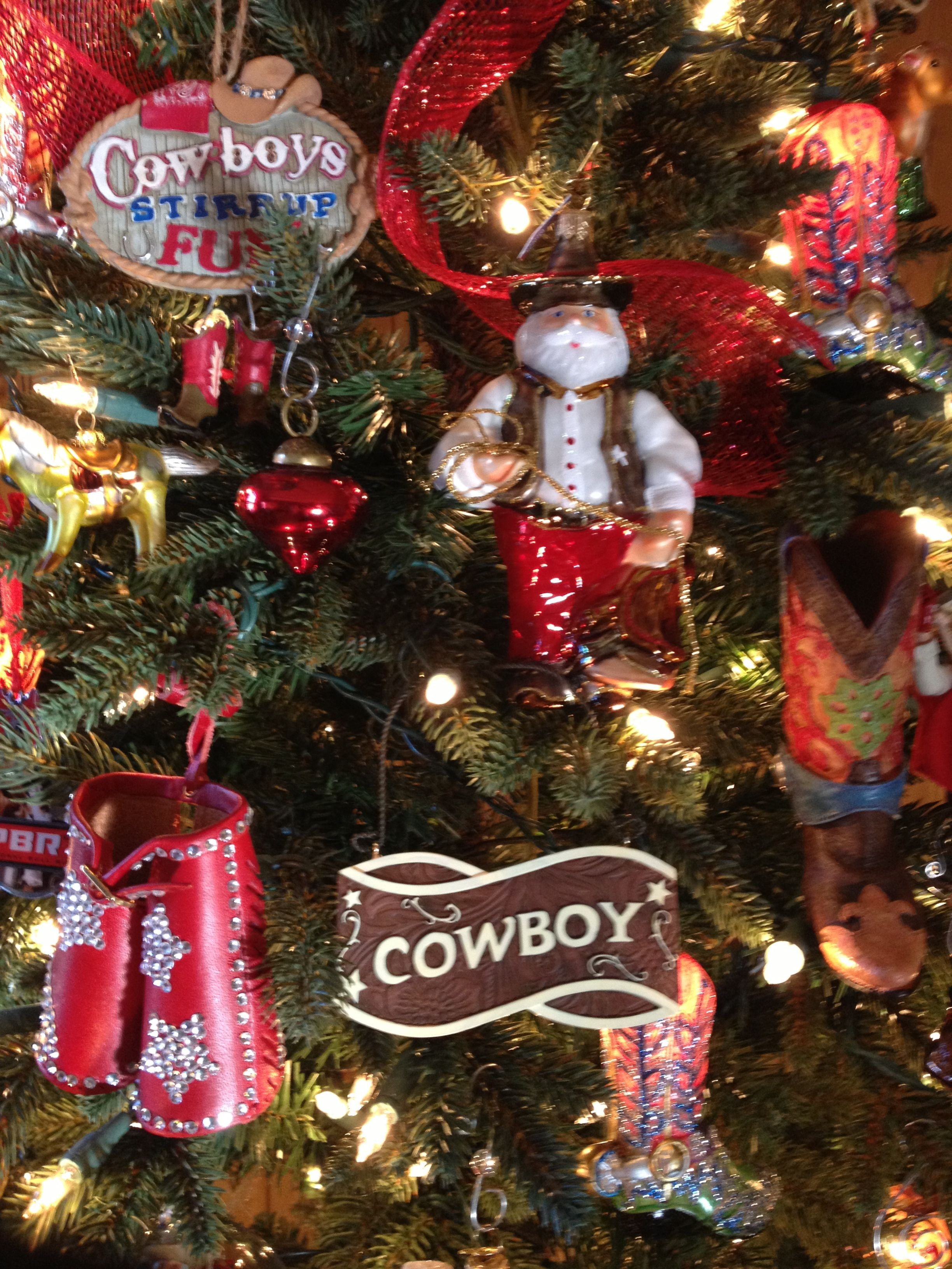 Cowboy Christmas Ornaments Found These At Hobby Lobby Hallmark And E Bay Cowboy Christmas Cowboys Christmas Ornaments Western Christmas