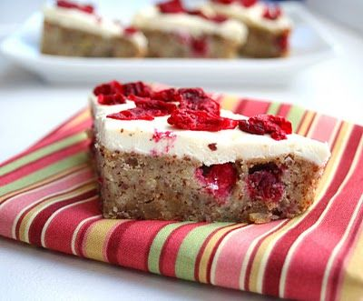 Recipe Cranberry Bliss Bars Low Carb And Gluten Free By All Day