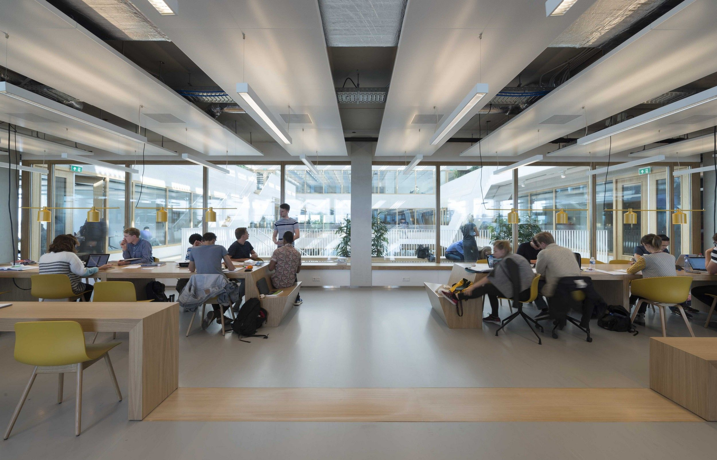 Polak building - Erasmus University Rotterdam