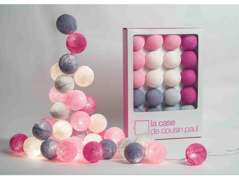 9 best Cotton Ball Lights Thailand images on Pinterest Cotton ball - guirlande lumineuse pour chambre bebe
