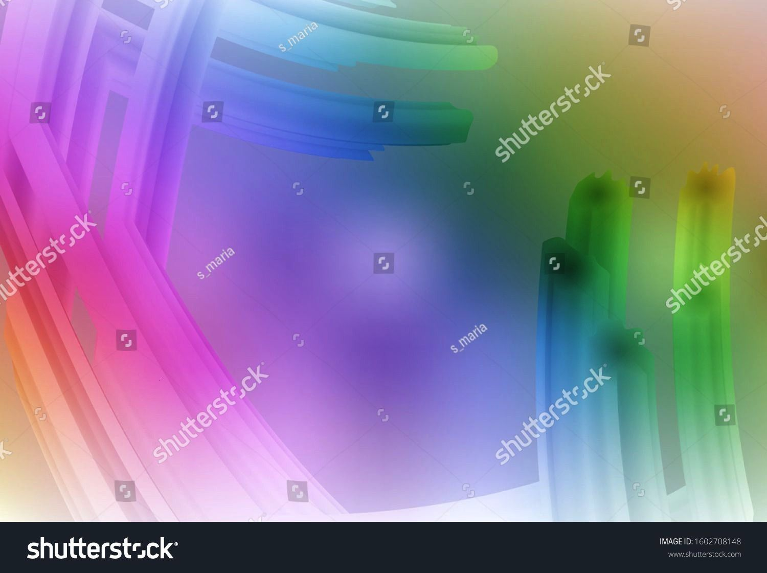Blurredshineabstractlight Illustration Multicolor Background