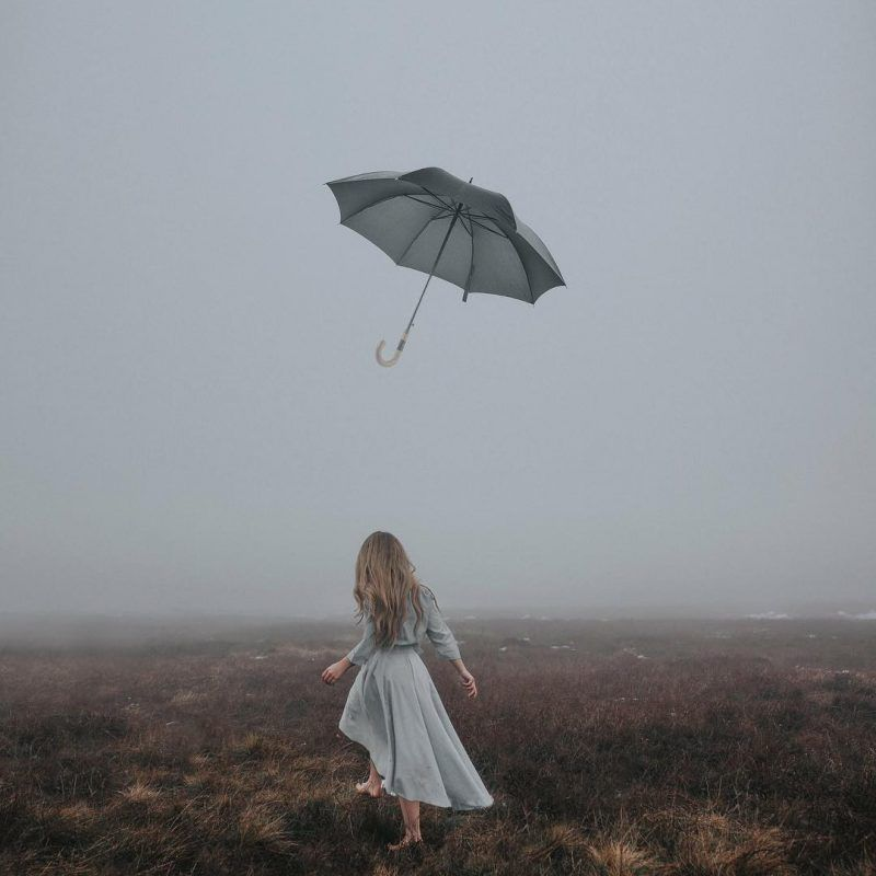 Gorgeous Fine Art Self Portrait Photography By Rosie Hardy With