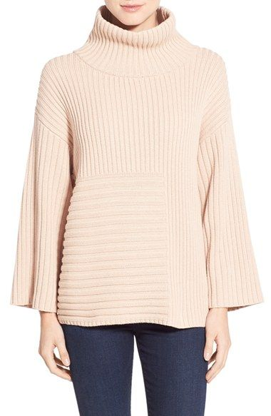 33e790b9cb1 Vince Camuto Ribbed Turtleneck Sweater (Regular   Petite) available at   Nordstrom