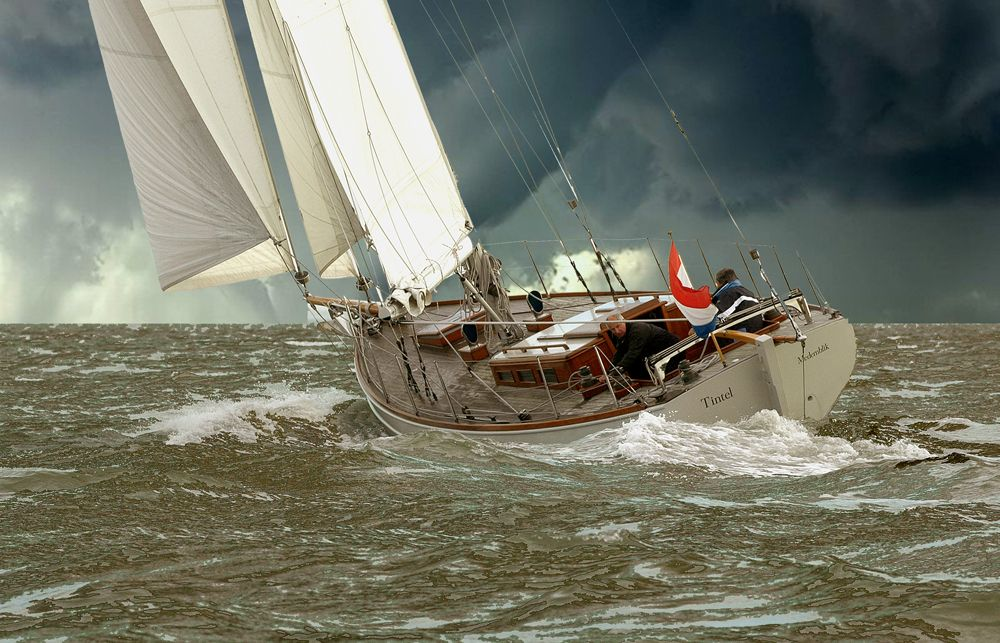 A beautifull Ship...  Design by Hoek Design