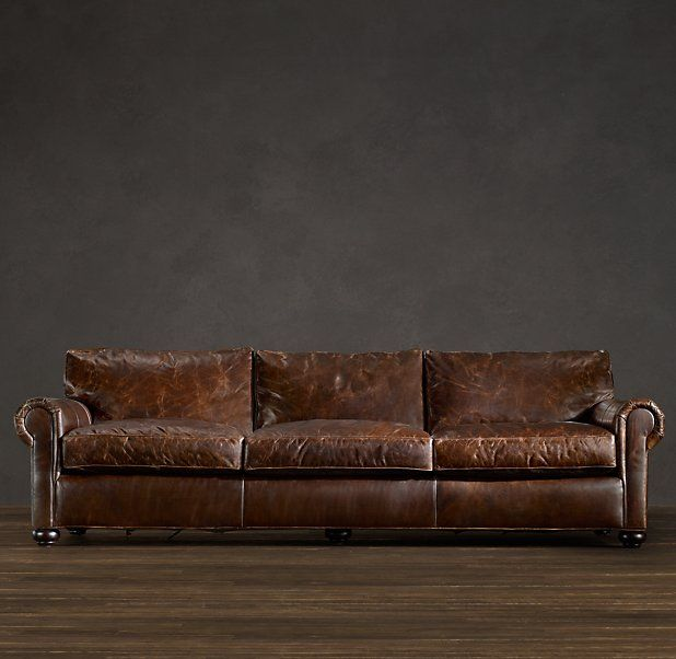 Original Lancaster Leather Sleeper Sofa For The Home
