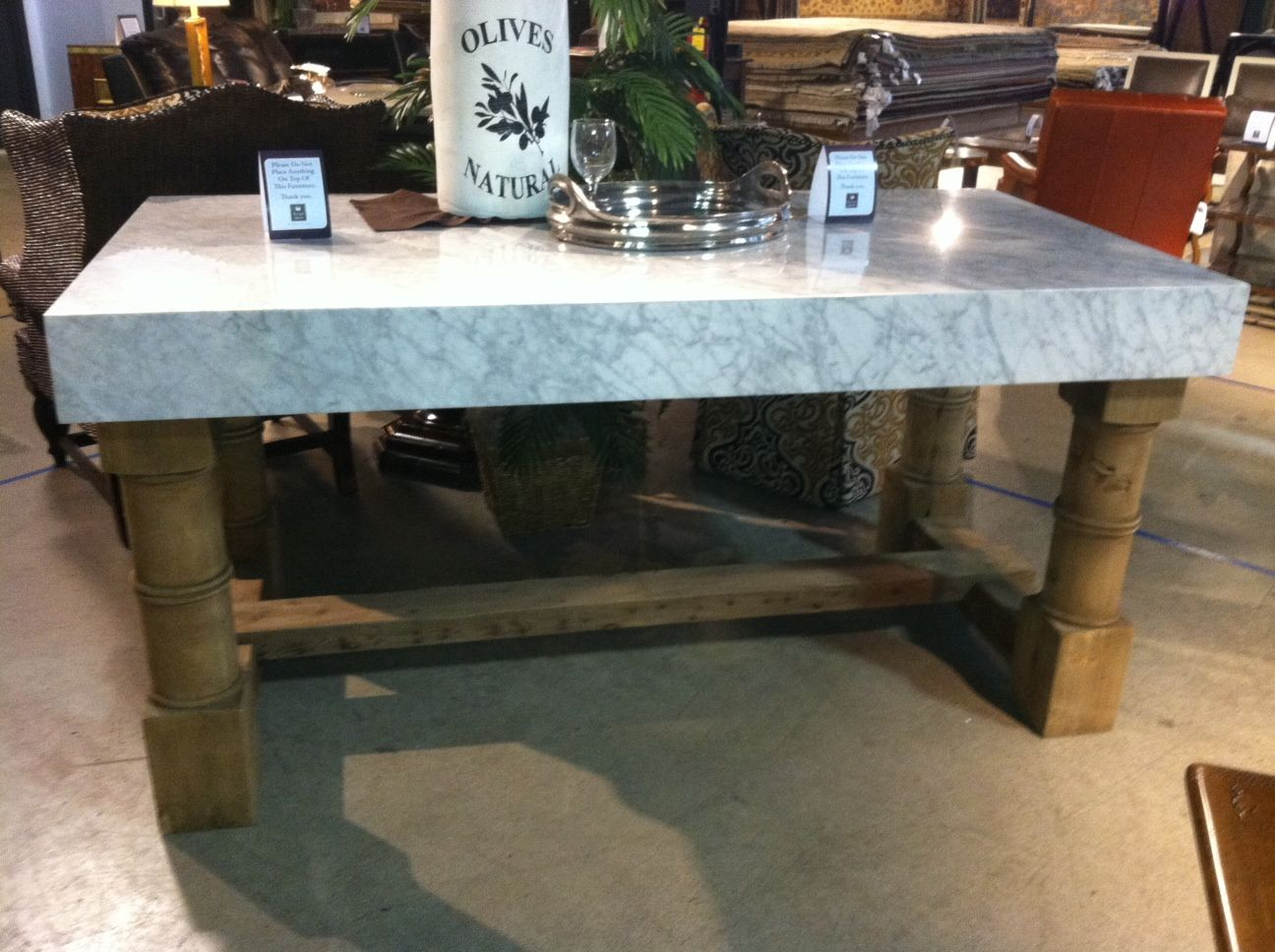 from halo styles marble top island retail price 5118 design spree price 4011