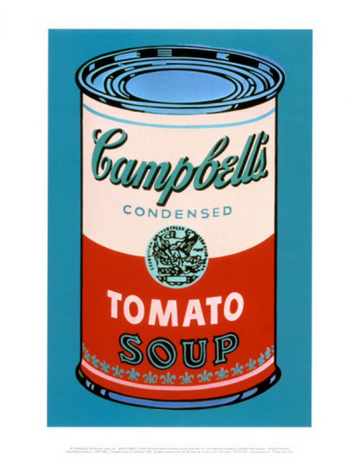 Andy Warhol - Campbell's Soup Can Pink and Red, 1965 ...