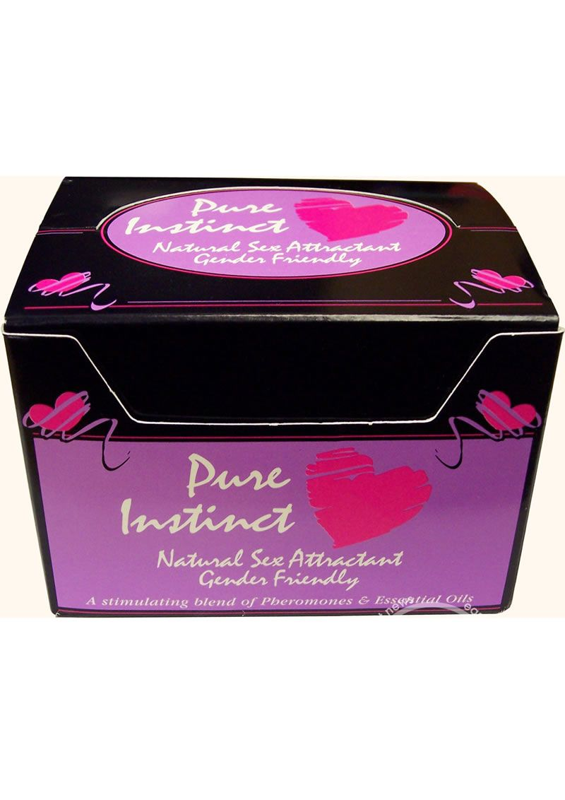 Pure Instinct Pheromone Cologne 15ml - Pure Instinct Sex Attract Cologne  Man or Woman Pure Instinct is a gender-friendly fragrance formulated with a generous amount of human pheromones to stimulate your Sex Appeal. What Are Pheromones? Human pheromones are natural chemical scents men and women produce that attract the opposite sex. We tend to be aroused by and less inhibited around members of the opposite sex who secrete an abundance of sex chemicals.  Do Pheromones Actually Work?  Yes…