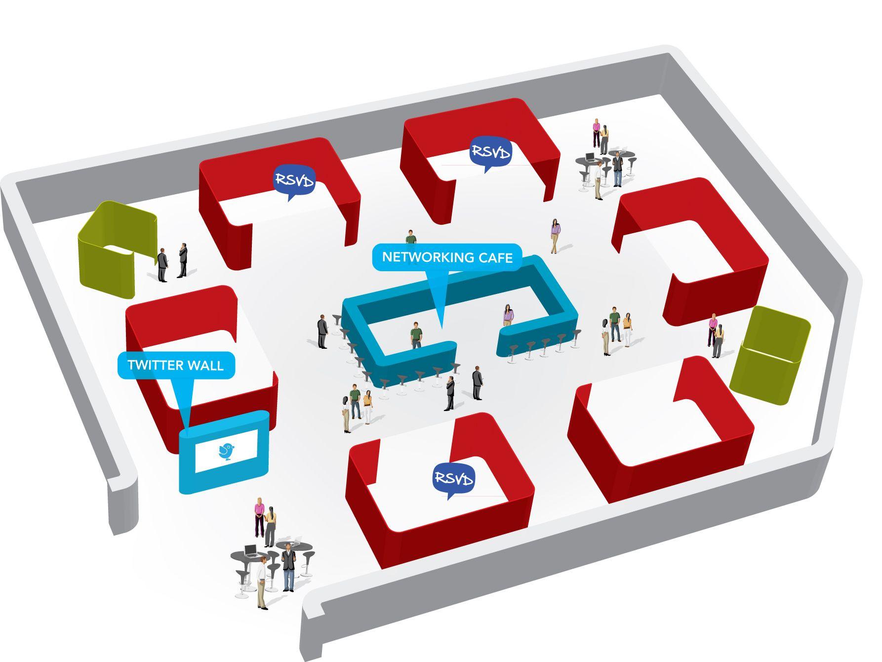 Exhibition floor plan pinterest for Trade show floor plan design