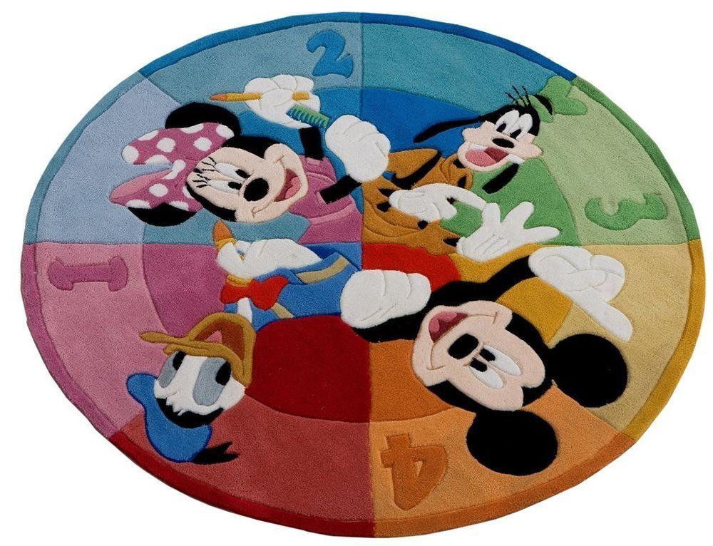 COM-16838-Offer Rug Carpet For Kid's Bedroom Walt Disney - 150x150cm - Farah1970 #Disney