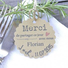 Mariage Marque-place