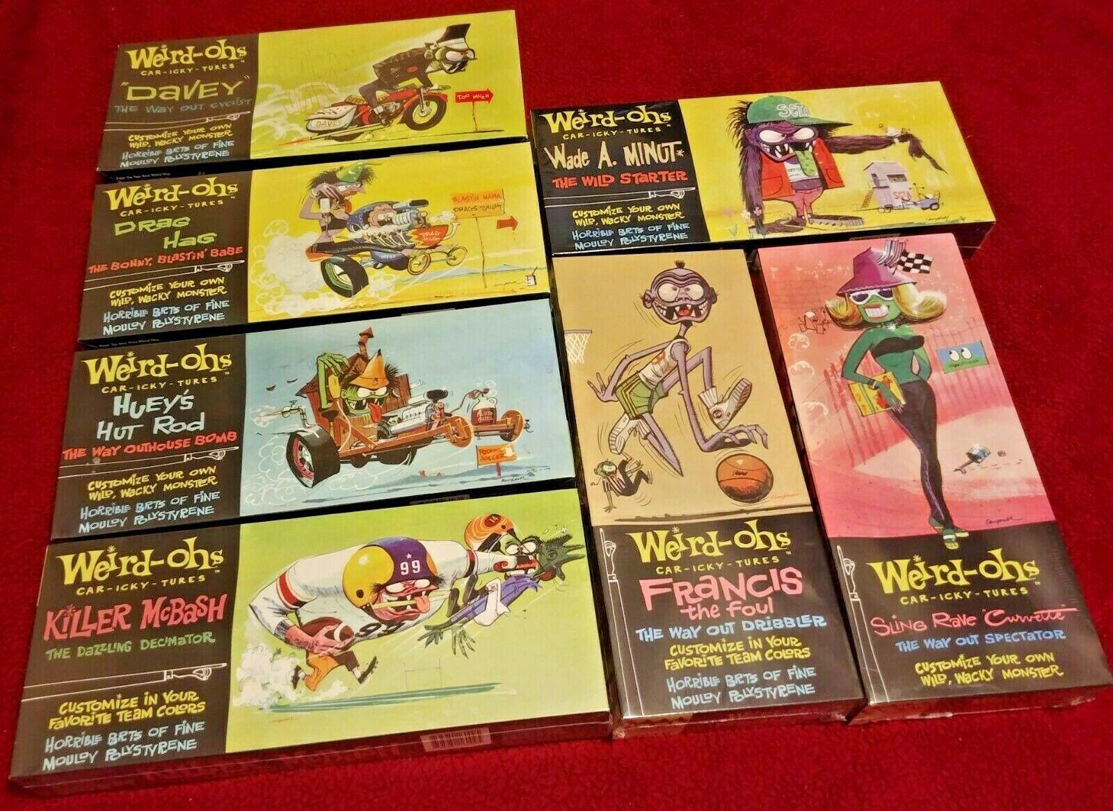 szkola-liderow.pl Models & Kits Toys & Hobbies Lot Of 7 Weird-Ohs ...
