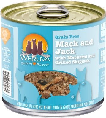 Weruva Cats in the Kitchen Salmon/Mackeral/Tuna Can 12/10oz