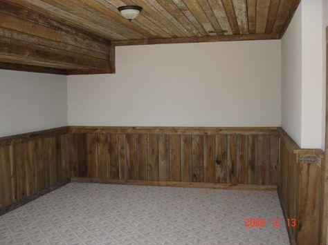 Barn Wood Wainscoting | Wood wainscoting, Wainscoting ...