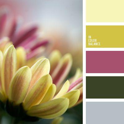amarillo verdoso, azafranado, carmesí pálido, colores otoñales, colores para la decoración, elección del color, espárrago gris, lila sonrosado, oro antiguo, paletas de colores para decoración, paletas para un diseñador, púrpura pálido, selección de colores.