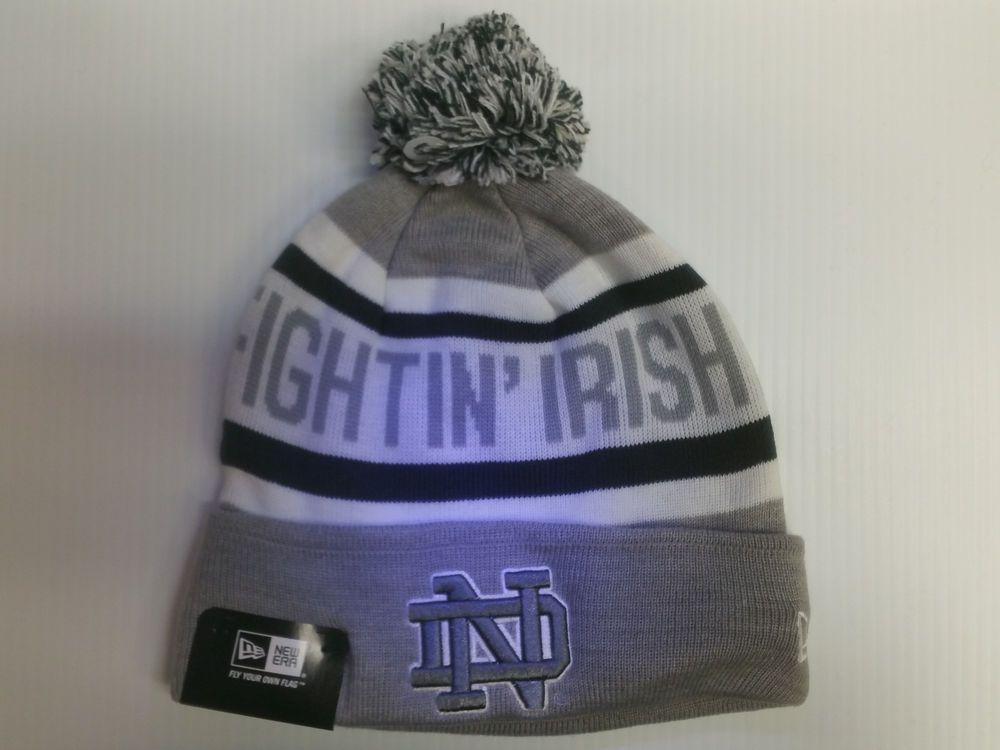 ... inexpensive notre dame fighting irish new era knit hat biggest fan  beanie cuff stocking cap from ... 6d15fe6e3642