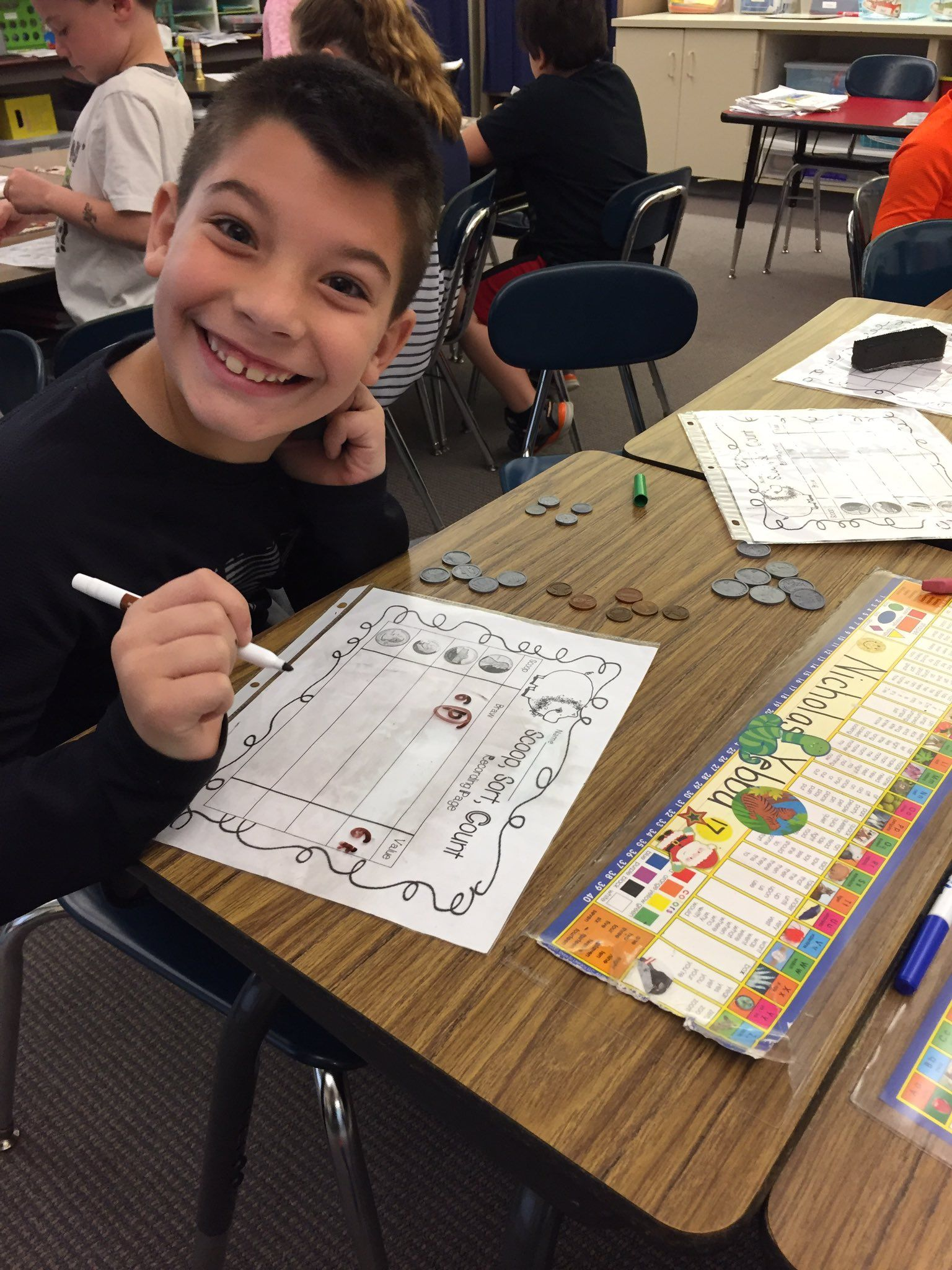 Rt Thomsontimes Sorting Coins And Finding Their Value