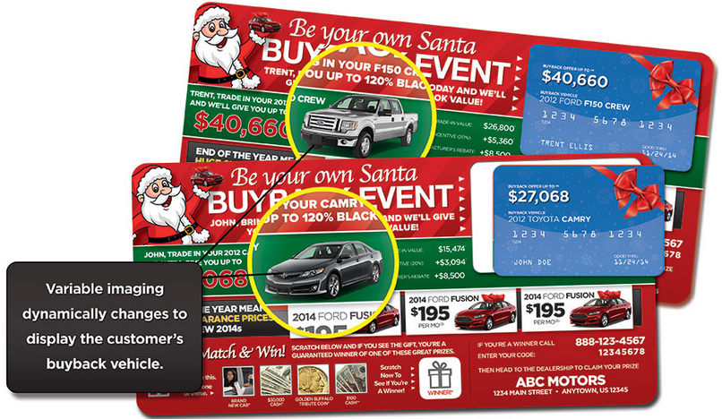 Automotive Direct Mail >> Automotive Direct Mail Holiday Marketing Dealer Showroom Traffic