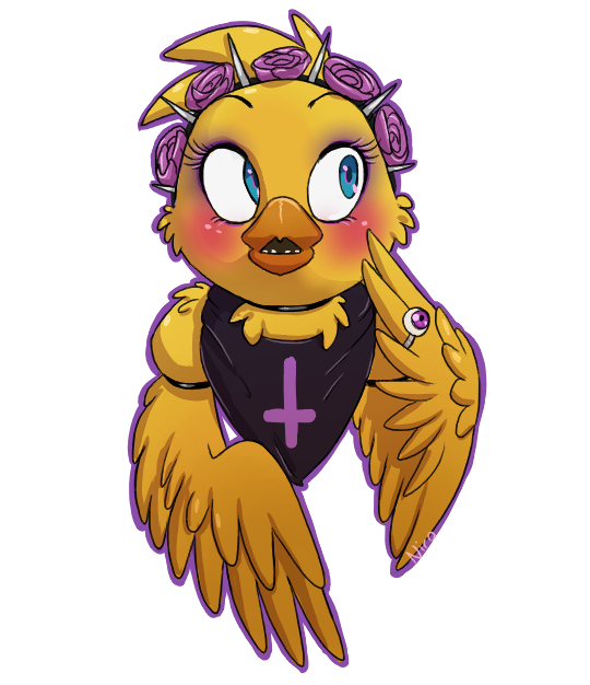 Chica Toy Chica Favourites By Goldenafro On Deviantart: Pastel Goth Toy Chica By XNIR0x.deviantart.com On
