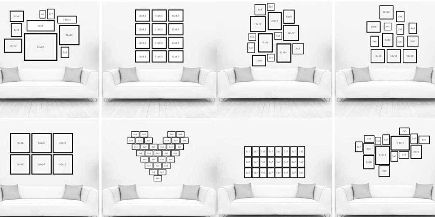 Wall Gallery Ispirazione Per I Tuoi Muri Casa Design